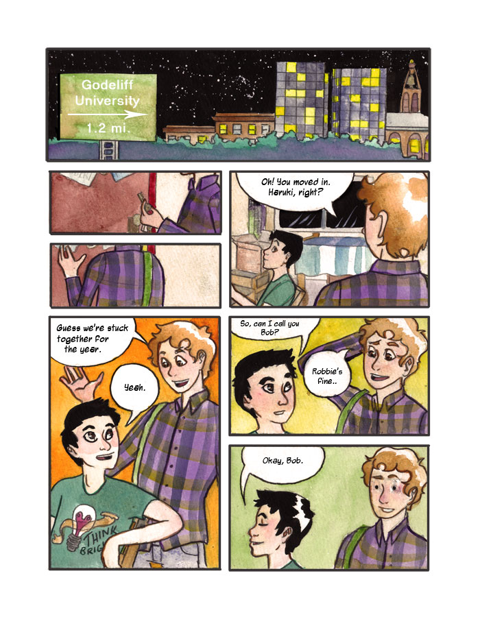 032 - The Roommate